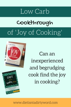 Try doing a low carb cookthrough with the Joy of Cooking