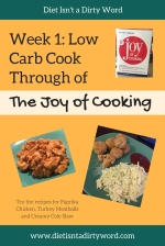 Cook through the Joy of Cooking, and make each recipe low carb!